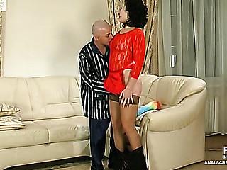 Gwendolen&Benjamin vehement anal movie