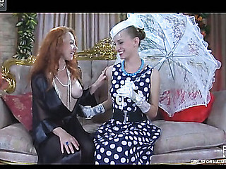Brandi&Rosa pussylicking aged in act