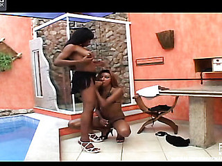 Agatha&Grace dicky ladyboys in action