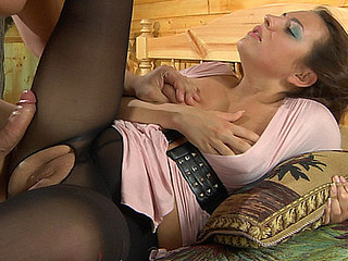Benett&Nicholas pantyhose fellow-feeling a amour movie