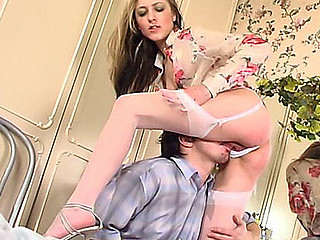 Meredith&Adam nylon fucking video