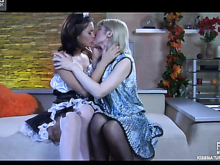 Amelia B&Charlotte lesbo aged video