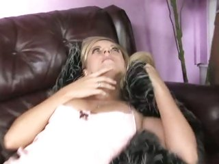 Sleeping Kylee Reese has her throat stuffed with jock