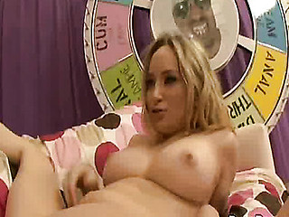 `Blond harlots are the freakiest harlots and thats the kind of excited unresponsible slutty shit we like here on penis competition! Natalie and Aiden are two of the horniest sluts and have been around, but when they acquire a load of O.G.'s 14`` knob they go fucking insane over it! Winner of this competiton receives a facial and engulf the cum outta the other doxies creampie pussy!`
