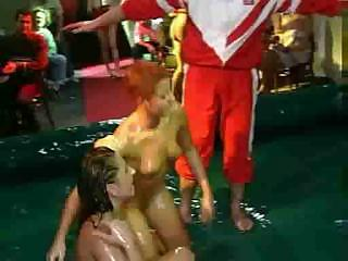 Groupsex Two With Baby Oiled Teens