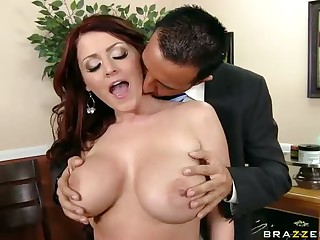 Big boobs Sophie Dee At A Jewellery Store