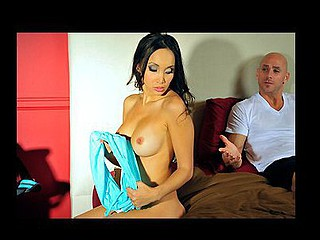 `Johnny Sins wakes up one morning to find his extremely fuckilicious wife Katsuni working on his car. After this French femme fatale finishes fiddling around with his gaskets that babe suggests to check below Johnny's ``hood.```