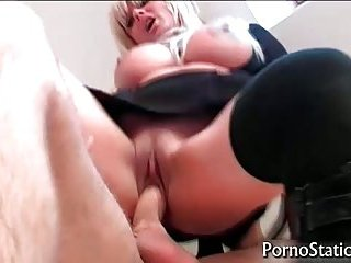 Breasty Karen Kay gets penetrated