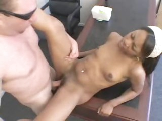 Rap video audition means that babe has to fuck