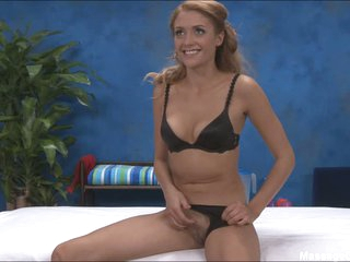 Pleasant Ashton in black bra with an increment of panties
