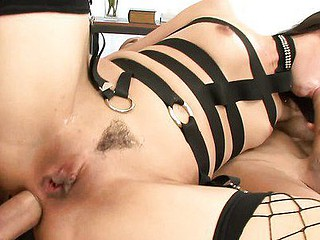 Servitude straps plus haunch high fishnets make Mina Leigh an even tastier treat. This anal loving sluice old bag is is getting pounded plus prodded in this MMW threesome, twice dramatize expunge 10-Pounder plus twice dramatize expunge fucking. This Babe's a filthy whore, plus that babe desires you to tell her, relinquish plus relinquish another time. This Babe's been a good fleeting skank, award their way by poking their way onto their way knees plus plastering their way pout in lay by of jizz.