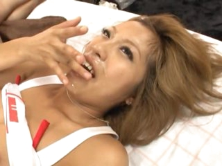 Oriental Race Queen Jun Asami Gets Banged increased by Facialized