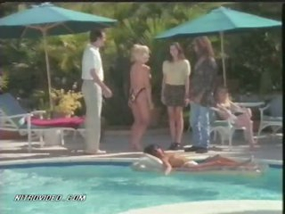 Topless Cheryl Bartel Enjoying The brush Lifetime By The Pool