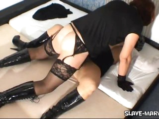 Amateur t-girl nails and creampies hook-up slave