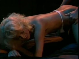 Stunning Retro Blonde Carolyn Monroe Blows and Fucks a Cock Wearing Undies