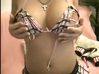Boob contest winner in homemade video