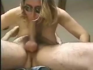 Good and eager jock sucker wears goggles for protection from that fast jizz blasting her face. Her boyfriend doesn't get there and this babe sits on it instead.
