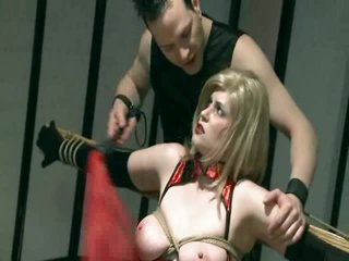 Bound Milf Spanked Added to Toyed