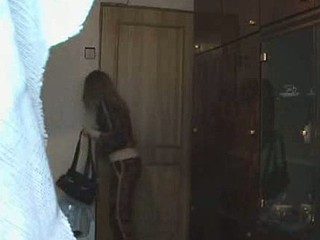 Luscious long-legged bitch had a spy hiding by someone's skin window increased by filming her naked. Go wool-gathering pamper got dressed starting to a white brassiere increased by small belts which made her look very tidbit increased by someone's skin voyeur filmed this hot scene!