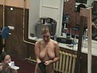 Spy cam in the gym was recording even in the night when those crazy chicks came hoping to stay unnoticed. They nude their garments and got willing for shove ups wearing nothing but lacy bras and pantyhose!