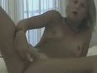 Slimy bawdy cleft masturbated