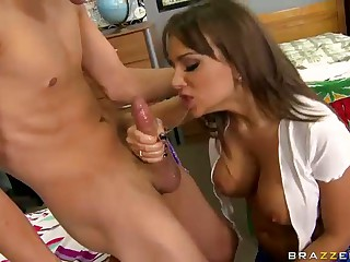 Enjoyment With BIg Titted Roommate Nika Noire