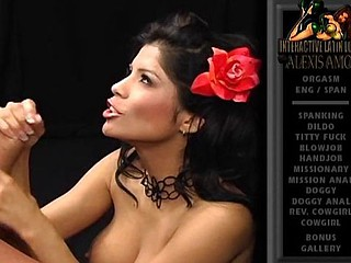 Alexis Amore is a lalin chick who likes her chaps to be hung studs