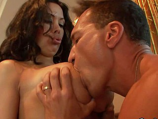 Bosomy Latina MILF Sienna West Fucked Permanent