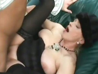 Cyclopean Tits MILF Hungry For A Juicy Load