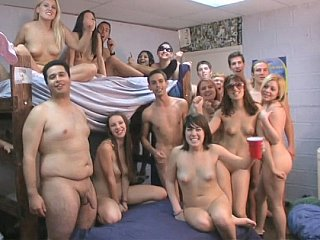 Huge college Hookup Party