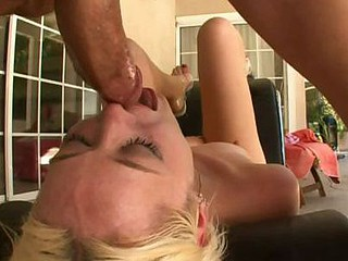 Rebecca Blue Hardcore Throat Take for a ride