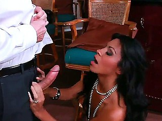 Mouthwatering sexy Cassandra Cruz adores oral bustle games, and John Strong can give her all about this admiration