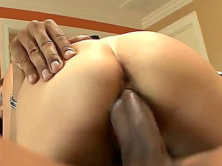 Enjoy glamorous amoral chick Kita Zen sucking greedy and getting destroyed by big black hammer