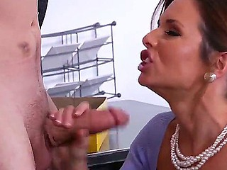 Dane Cross could scream escape the sexy charms of Veronica Avluv, as she sucks his schlong hungrily