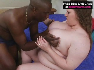Interatial BBW Porn Giant Tits Open Fur pie Ornament 1
