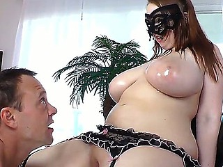 BBW Felicia Clover receives her brains fucked out while having hardcore with Kurt Lockwood