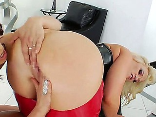 Dee Siren along with hottie  Nicki Hunter are having a wild and nasty lesbians softcore