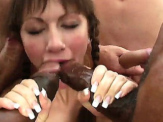 Anita Hengher,Kid Jamaica,Omar Galanti and Timo Hardy in amazing hardcore anal