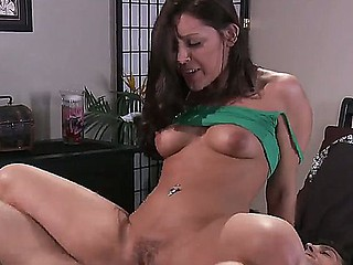Hot Gracie Glam is having intense pleasure fucking will not hear of step brother Ramon