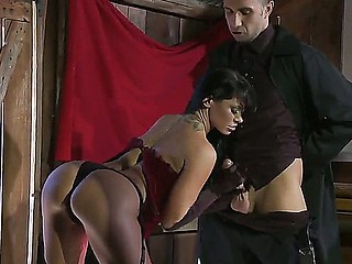Young crazy babe Savannah Stern is enchanting her boss, the big and bad Keiran Lee