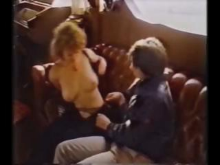 Vintage porn with Colleen Brennan getting fucked on a yacht