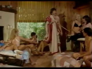 Vintage group sex with schlong fucking and pussy fucking action