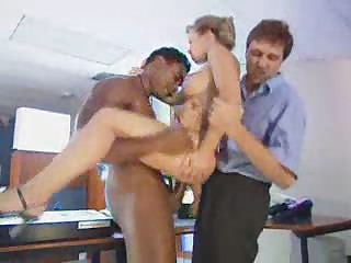 Office Double penetration