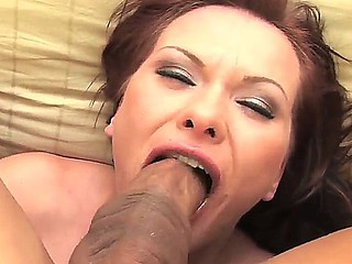 Lusty cock addicted floozy Katja Kassin