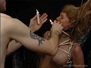 Filial Blonde MILF Gets Painful in a Sex Lock-up