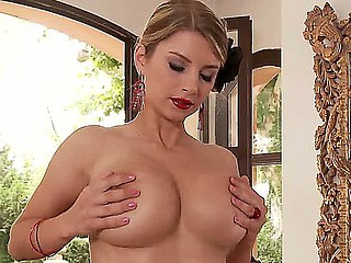Sensuous beloved incomparable comme ci pornstar Katarina