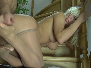 Connie&Nicholas sexy nylon fingertips action