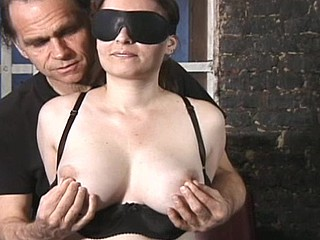 Rick twists her nipples until that unreserved begs for relating to