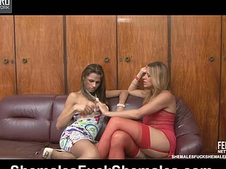Patricia&Yasmin attractive ladymans in the first place mistiness scene