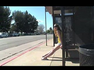 Who knew that waiting for the bus could be so dangerous LOL!